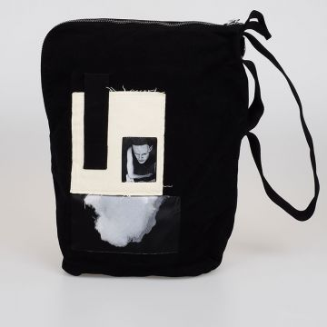 DRKSHDW Cotton BUCKET Bag with Patches