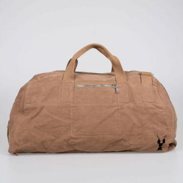 DRKSHDW Cotton WEEKENDER Duffle Bag CAMEL