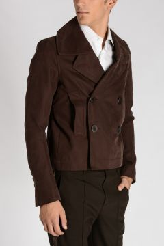 Trench Corto SPACCO in Cotone MACASSAR