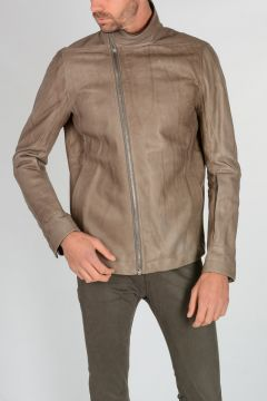 Leather MOLLINO Jacket DNA DUST