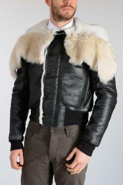 Shearling GLITTER PARKA Jacket