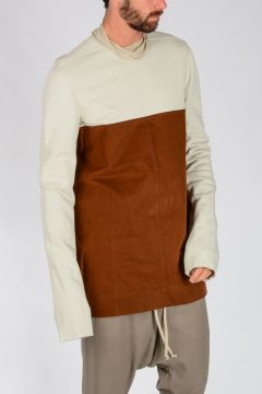 T-Shirt EMOTIONLESS in Cotone DINGE/BROWN