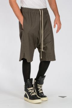 DRKSHDW Stretch Cotton BASKET SWINGER Shorts DARK DUST