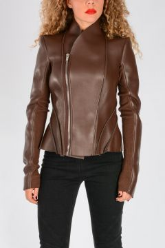 LILIES Leather Jacket PRINCESS MACASSAR