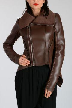 LILIES Leather NASKA BIKER Jacket MACASSAR