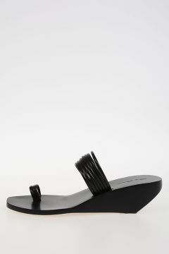 Leather TOE STRAPS ADLER SLIVER slipper Sandals