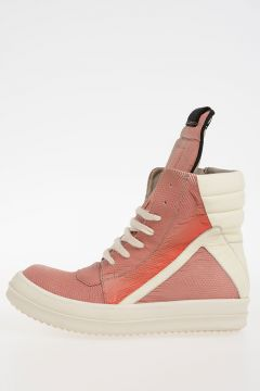Leather GEOBASKET LIZARD Sneakers