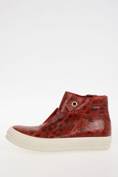 Leather ISLAND DUNK LUPO Sneakers RED/WB