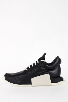 RICK OWENS FOR ADIDAS Leather LEVEL RUNNER LOW Sneakers