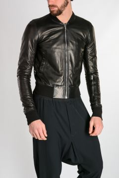 Leather GLITTER FLIGHT Jacket