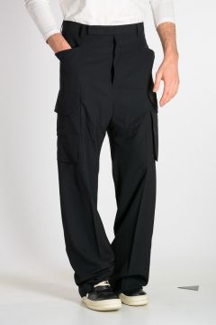 Pantaloni TAILORED CARGO in Misto Lana