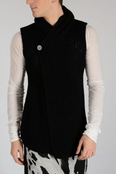 Cotton HOODED CARDIGAN Sweater