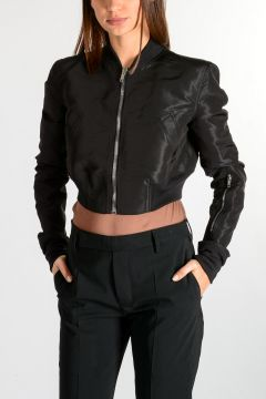 GLITTER FLIGHT Cropped Jacket