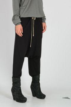 Wool CROPPED DRAWSTRING Pants