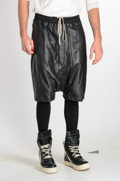 Snake Leather RICK'S PODS Shorts