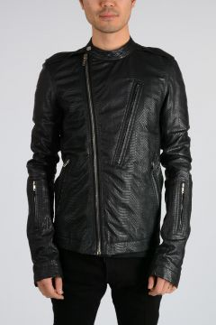 Leather CYCLOP BIKER Jacket