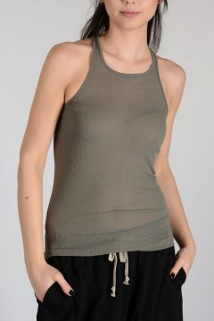 Viscose Silk BASIC RIB Tank EUCA