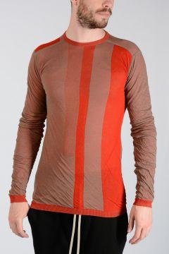Cotton BIKER LEVEL ROUND NECK Sweater DNA/RED