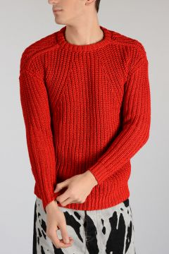 Cotton Sweater RED