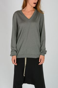 DEEP VNECK Sweater in EUCA