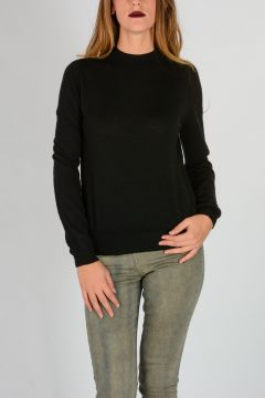 Cashmere BIKER LUPETTO Sweater
