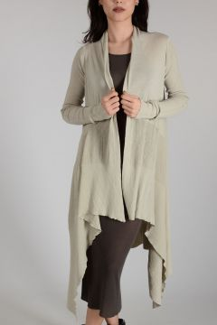 Cotton MEDIUM WRAP Cardigan DINGE