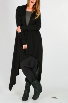 Cashmere LONG WRAP Cardigan