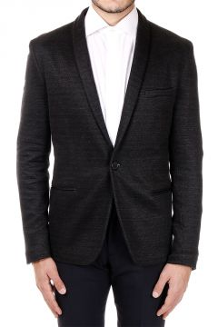 Stretch Cotton single Breasted Blazer