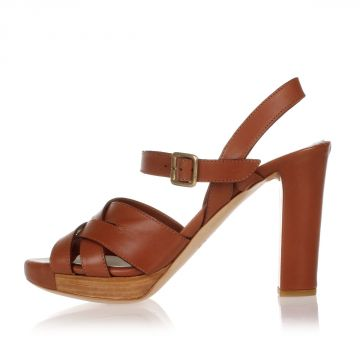 Leather JARAK Sandal Heel 10.5 cm