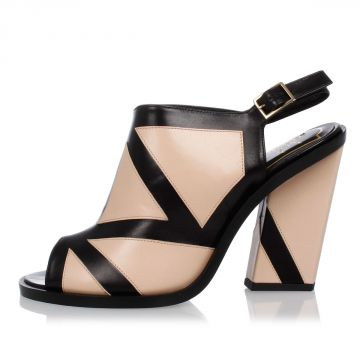 Sandalo in Pelle SKYSCRAPER BAUHAUS