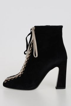 Suede TRESSAGE CHUNKY Booties