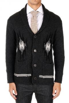 Cardigan in Cashmere con due tasche