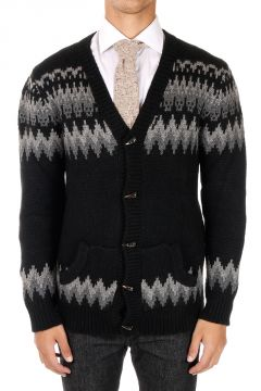 Cashmere Cardigan with V Neck