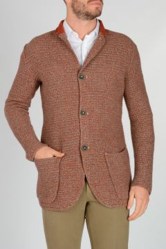 Super Yak Merino Wool Knitted Cardigan