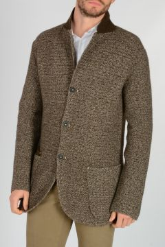 Super Yak Merino Wool Knit Cardigan
