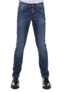Jeans in Denim Stretch Delave 18 cm