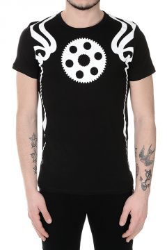 T-shirt a girocollo Stampata