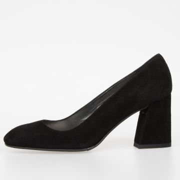 Suede Leather MARY Shoes