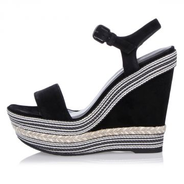 Leather SINGLE Wedge