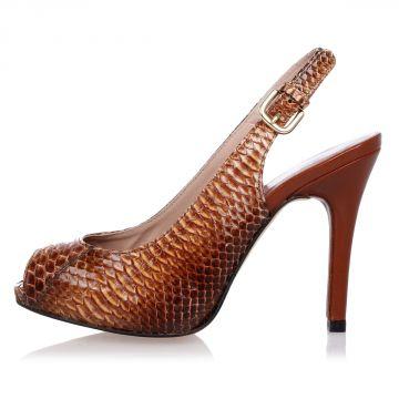 Sandalo SLINGIN a Stampa Pitone