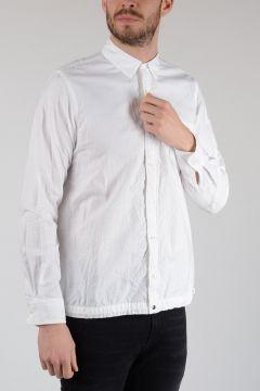 Cotton Drawstring Shirt