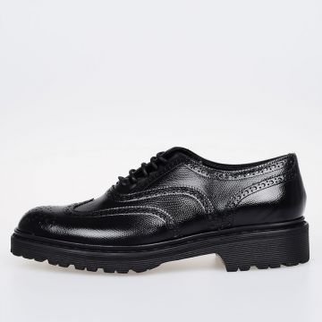 Leather GRAN ECRASSE Oxford Shoes