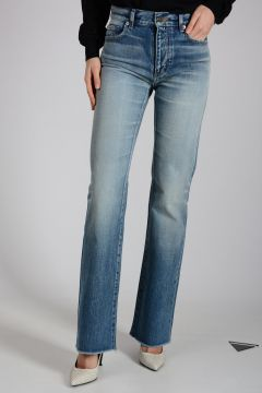 22cm Denim Stone Washed Jeans
