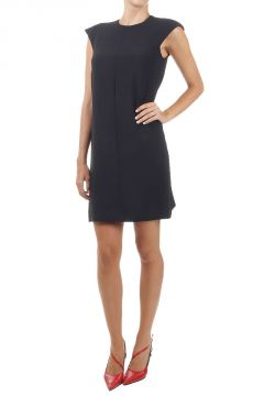 Lined sleeveless dress
