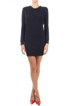 Cashmere long sleeved dress