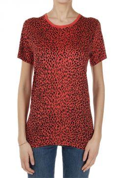 T-Shirt Girocollo Animalier