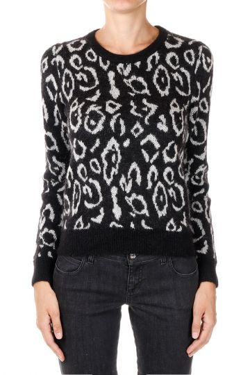 Mohair Round Neck Sweater