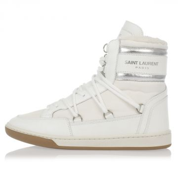 Sneakers COURT CLASSIC in Pelle e Tessuto