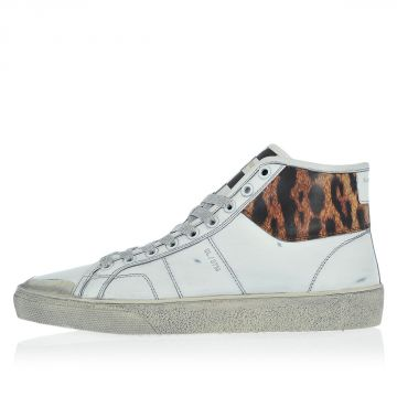 Leather WOLLY high Top Sneakers