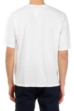 T-shirt girocollo in Jersey di Cotone